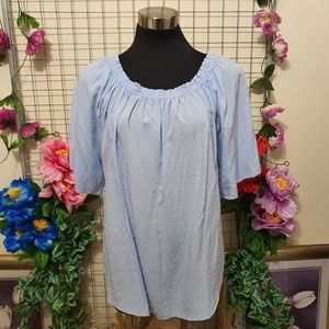 SUZANNE GRAE | Top | Light Blue | AU 12 | New without tag | Very Good Condition